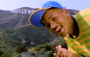 Will Smith in der Prinz von Bel-Air