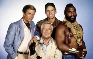 """In den 80er Jahren half  das Vierergespann aus dem """"A-Team"""" Menschen in Not..."""