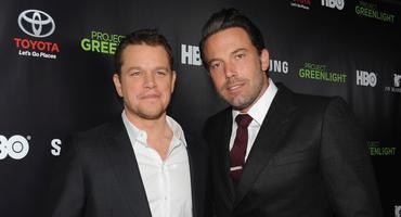 Ben Affleck und Matt Damon beim Roten Teppich