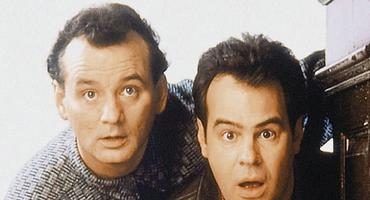 "Dan Aykroyd und Bill Murray in ""Ghostbusters"""