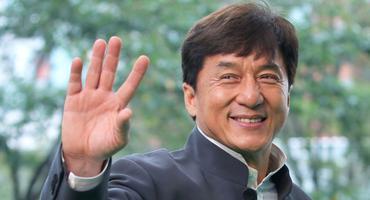 Jackie Chan auf einer Filmpremiere in Tokio
