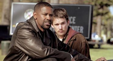 """Training Day"" mit Denzel Washington und Ethan Hawke"
