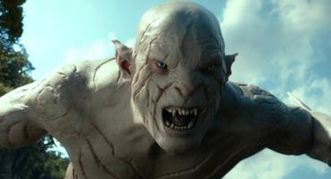 "Bennett als Azog in ""Hobbit - Smaug"""