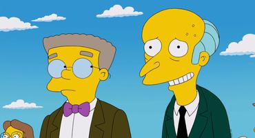 """Simpsons"" Mr. Burns und Smithers"