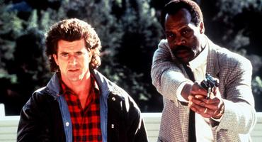 Lethal Weapon, Mel Gibson, Danny Glover