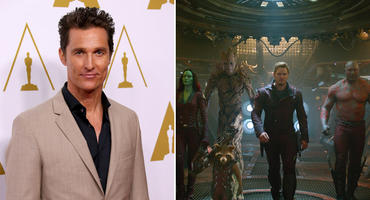 Matthew McConaughey Guardians of the Galaxy