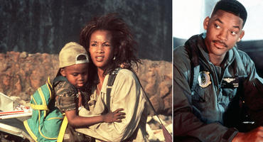 Independence Day, Will Smith, Vivica Fox, Ross Bagley