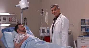 Emergency Room, George Clooney, Hugh Laurie, Dr. House, Jimmy Kimmel