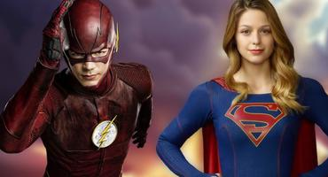 The Flash und Supergirl