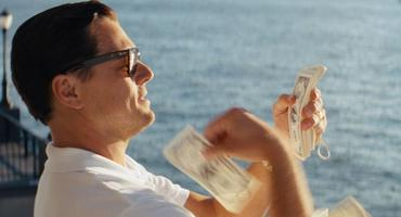 """Wolf of Wall Street"" Leo Geld"