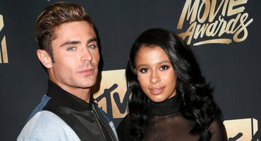 Zac Efron und Sami Miro bei den MTV Movie Awards