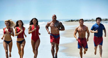 Baywatch Zac Efron, Dwayne Johnson