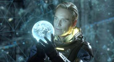 "Michael Fassbender ""Prometheus"" als David"