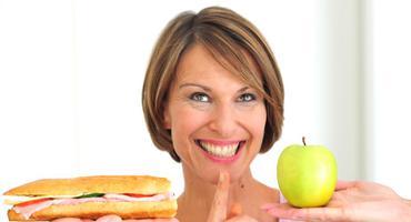 Übersäuerung Sandwich Apfel