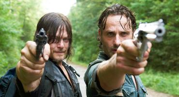 """The Walking Dead"" Rick und Daryl"