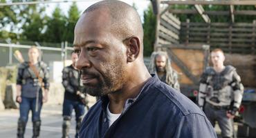 """The Walking Dead"" - Staffel 7, Folge 13: Über was ist Morgan hier wohl so am grübeln?"