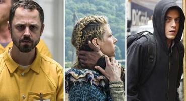Die besten Amazon Prime Serien - Sneaky Pete, Vikings, Mr. Robot Collage