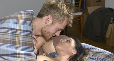 "Paul Wiedmann (Niklas Osterloh) und seine ""GZSZ""-Freundin Emily."