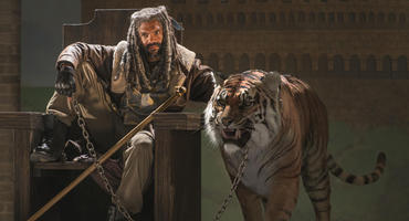 """The Walking Dead"", Staffel 7 - Ezekiel und Tiger Shiva"