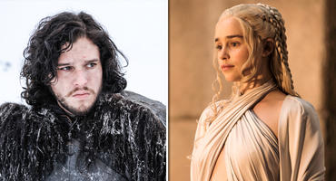 "Jon Snow und Daenerys Targaryen - ""Game of Thrones"""