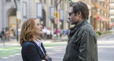 """Akte X"" Fox Mulder Dana Scully"