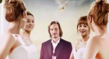 """Im Vorspann zur 13. Staffel """"Sturm der Liebe"""" gibt es 2 Bräute. Screenshot: ARD"""
