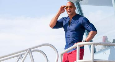 The Rock Baywatch