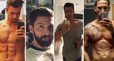 Bachelorette 2017: Die Kandidaten auf Instagram. Fotos: Michael Bauer / Sebastian Fobe / Till Arnold / Marco Cerullo auf Instagram