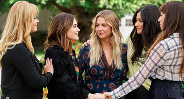 """""""Pretty Little Liars"""" geht auf die letzte Folge zu. Foto: Freeform"""