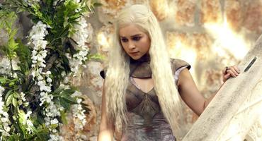 """Game of Thrones"" Daenerys Emilia Clarke"