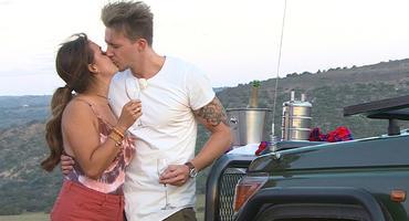 Bachelorette Jessica Paszka und David Friedrich. Foto: MG RTL D