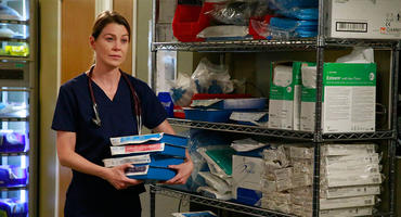 """Muss Meredith (Ellen Pompeo) bei """"Grey's Anatomy"""" ihre Sachen packen? Foto: ABC"""