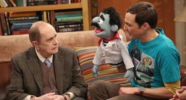 Big Bang Theory Bob Newhart