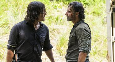 """The Walking Dead"" Rick and Daryl"