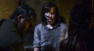 The Walking Dead Carl Serie