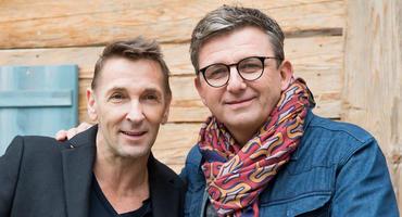 """""""Der Bergdoktor"""" Mark Keller und Hans Sigl"""