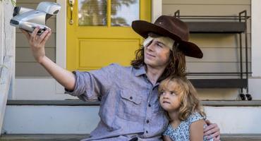 The Walking Dead Carl Judith