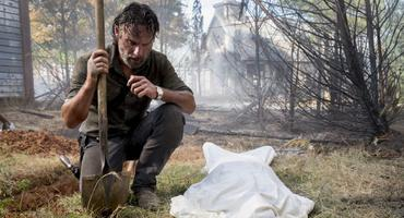 The Walking Dead Carl Rick