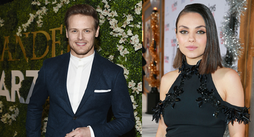 "Sam Heughan und Mila Kunis ""The Spy Who dumped me"""