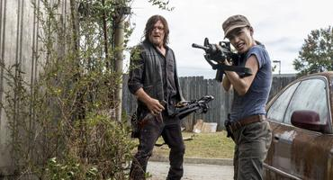 The Walking Dead Daryl Rosita
