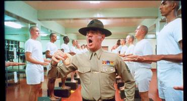 R. Lee Ermey als Drill-Instructor Gunnery Sergeant Hartman in Full Metal Jacket