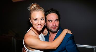 Big Bang Theory Kaley Cuoco (Penny) und Johnny Galecki (Leonard)