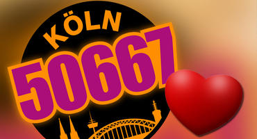 """Zwei """"Köln 50667""""-Darsteller haben ihrer Liebe ein Denkmal gesetzt."""