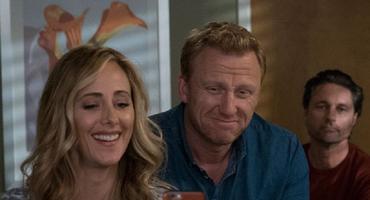 """""""Grey's Anatomy"""": Owen Hunt (Kevin McKidd) und Teddy Altman (Kim Raver)"""