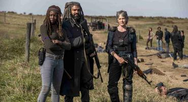 The Walking Dead Carol, Ezekiel