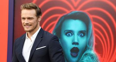"""Outlander""-Star Sam Heughan bei der Premiere zu ""The Spy Who Dumped Me"""