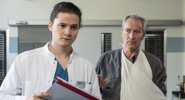 Die jungen Ärzte: Tom Zondek Rutger Wolf