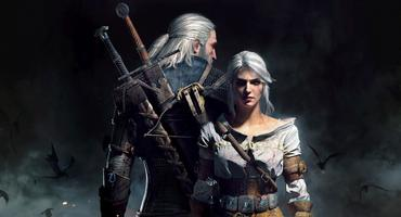 """Geralt und Ciri in """"The Witcher"""""""