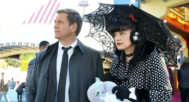 "NCIS ""Navy CIS"" Pauley Perrette alias Abby Sciuto und Michael Weatherly alias DiNozzo"