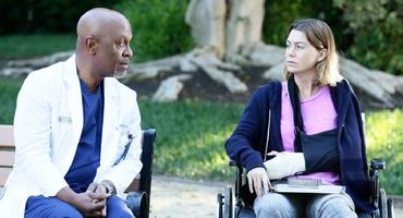 grey's anatomy: Meredith Grey (Ellen Pompeo) und richard webber